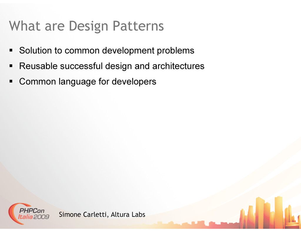 What are Design Patterns   Solution to common ...
