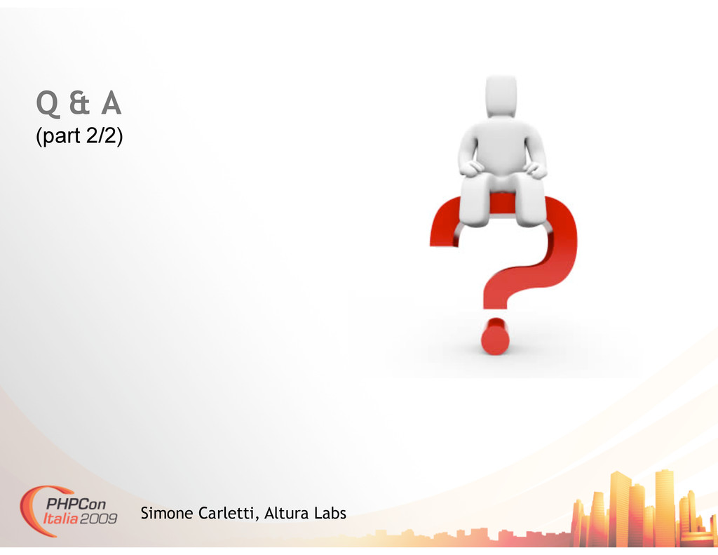 Q & A (part 2/2) Simone Carletti, Altura Labs