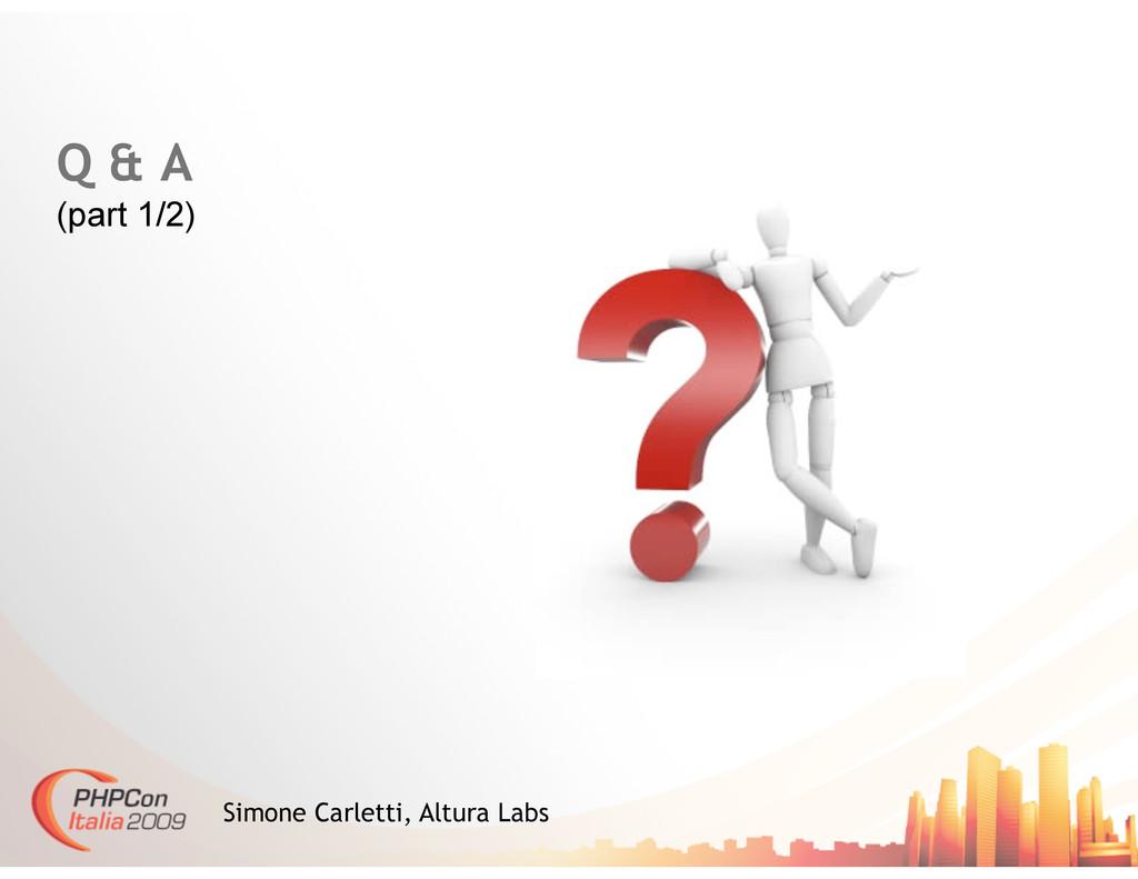 Q & A (part 1/2) Simone Carletti, Altura Labs