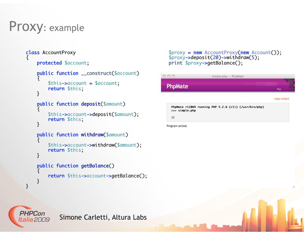 Proxy: example Simone Carletti, Altura Labs cla...