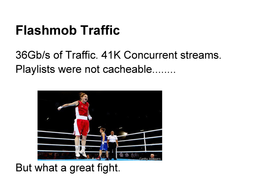 Flashmob Traffic 36Gb/s of Traffic. 41K Concurr...