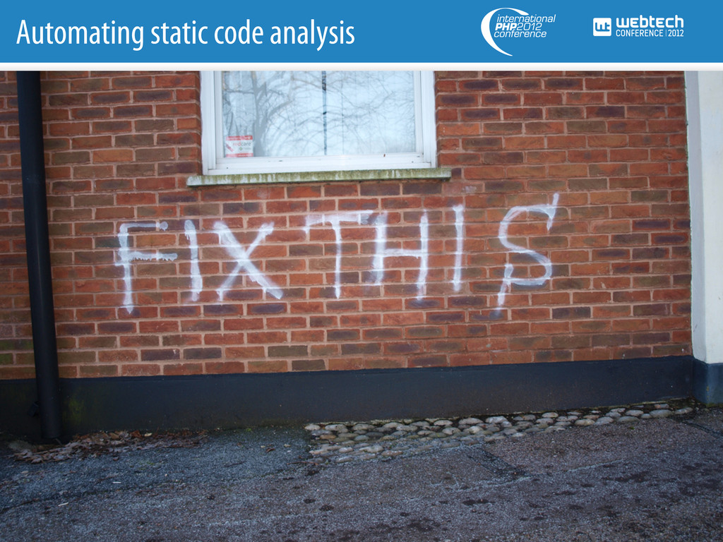 Automating static code analysis