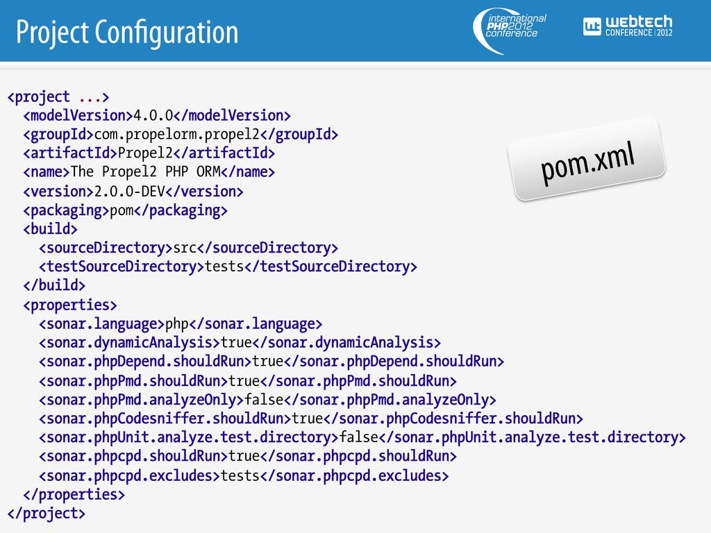 Project Con guration <project ...> <modelVersio...