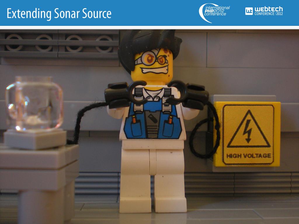 Extending Sonar Source