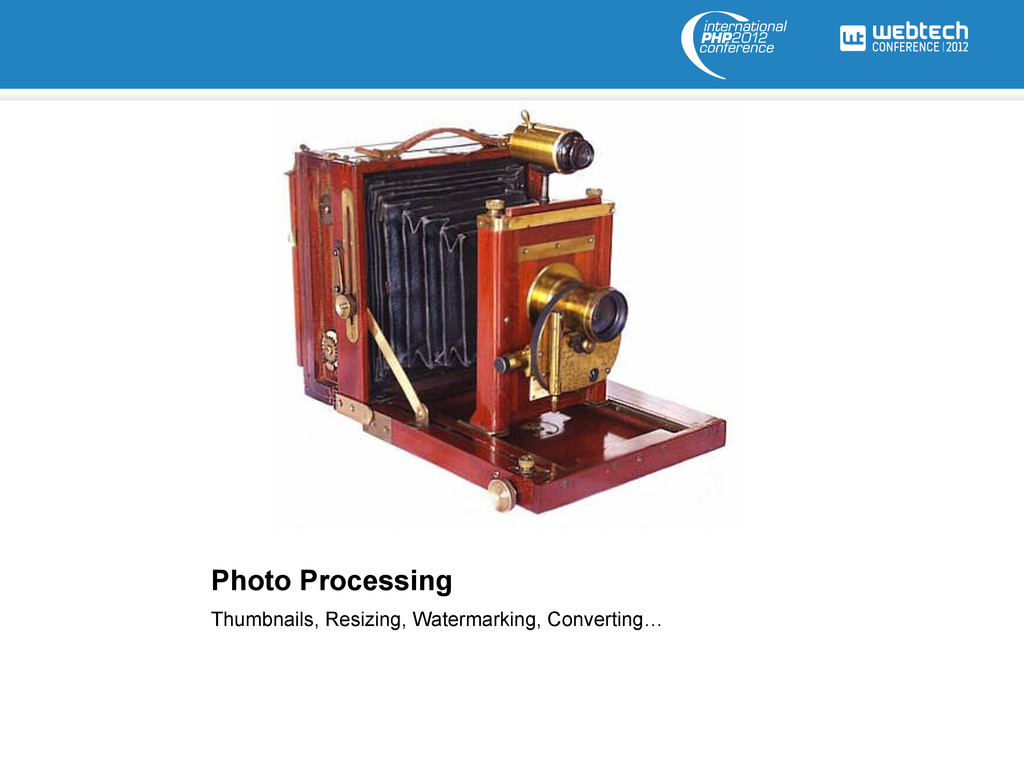 Photo Processing Thumbnails, Resizing, Watermar...
