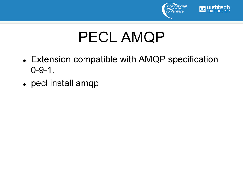 l Extension compatible with AMQP specificatio...