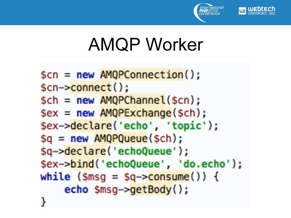 AMQP Worker