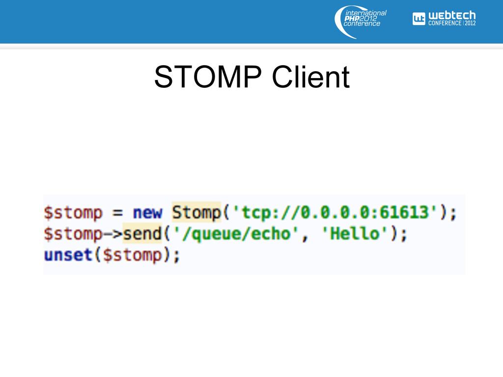 STOMP Client