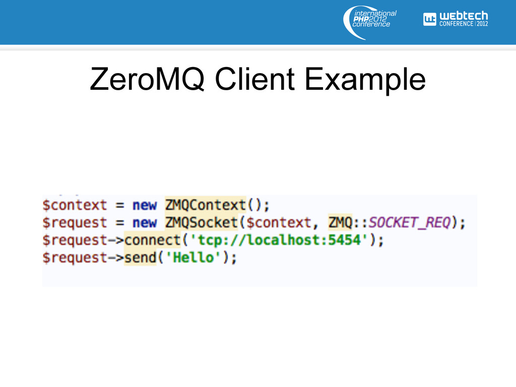 ZeroMQ Client Example