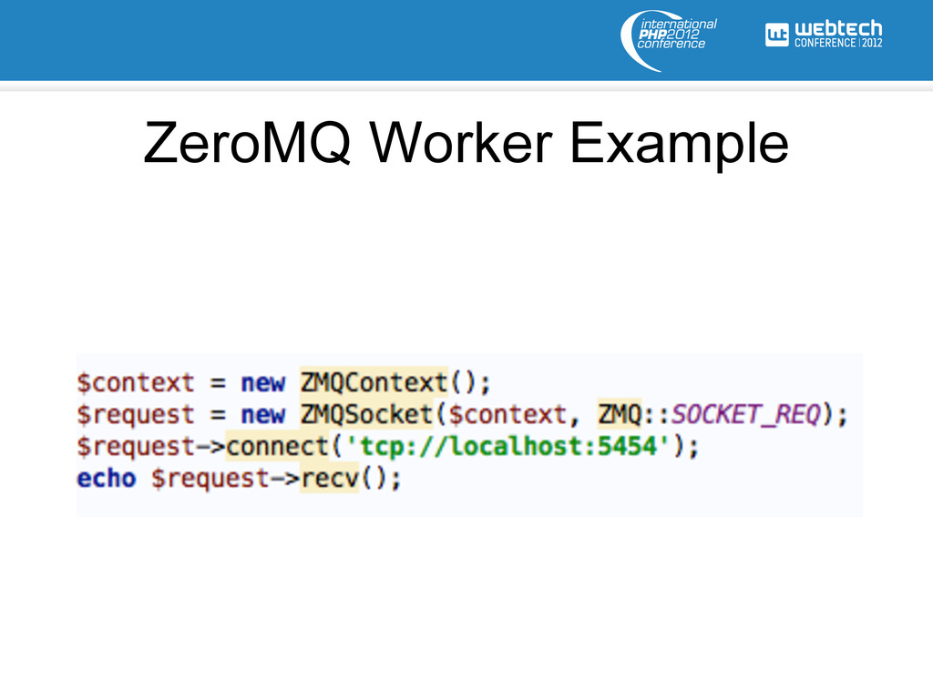 ZeroMQ Worker Example