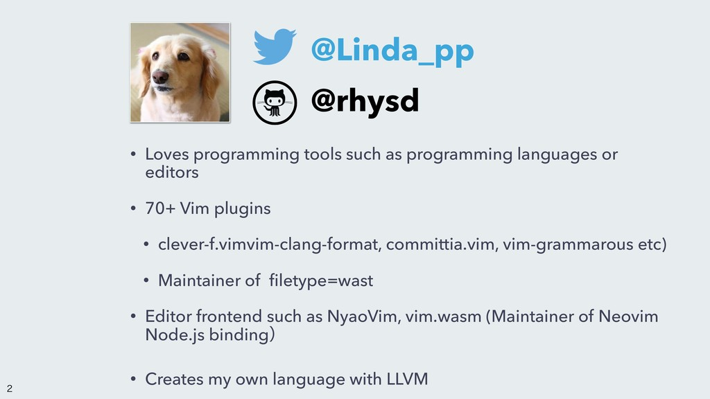 • Loves programming tools such as programming l...
