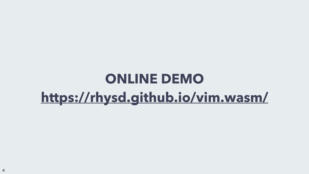 ONLINE DEMO https://rhysd.github.io/vim.wasm/ ...