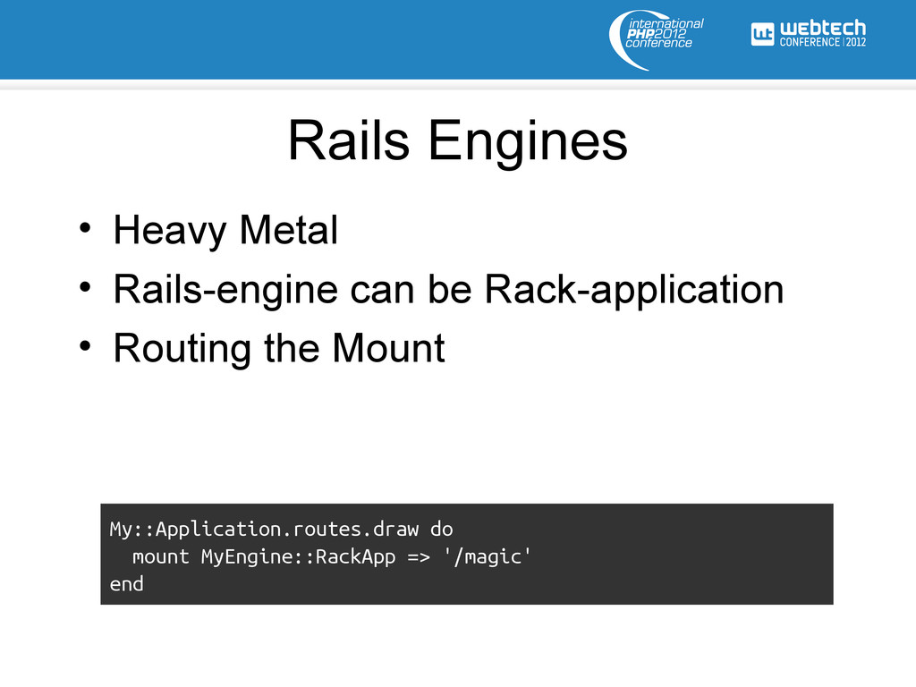 Rails Engines • Heavy Metal • Rails-engine can ...