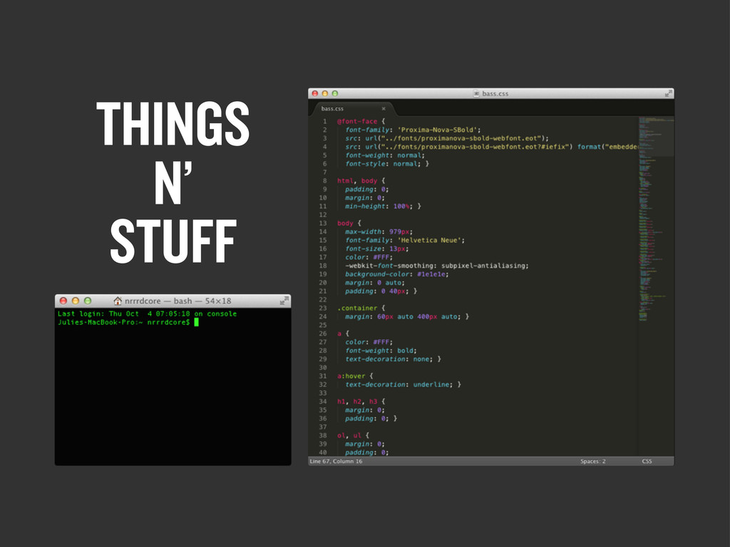 THINGS N' STUFF