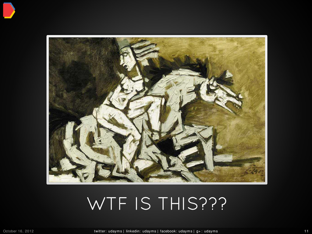 WTF IS THIS??? October 16, 2012 twitter: udayms...