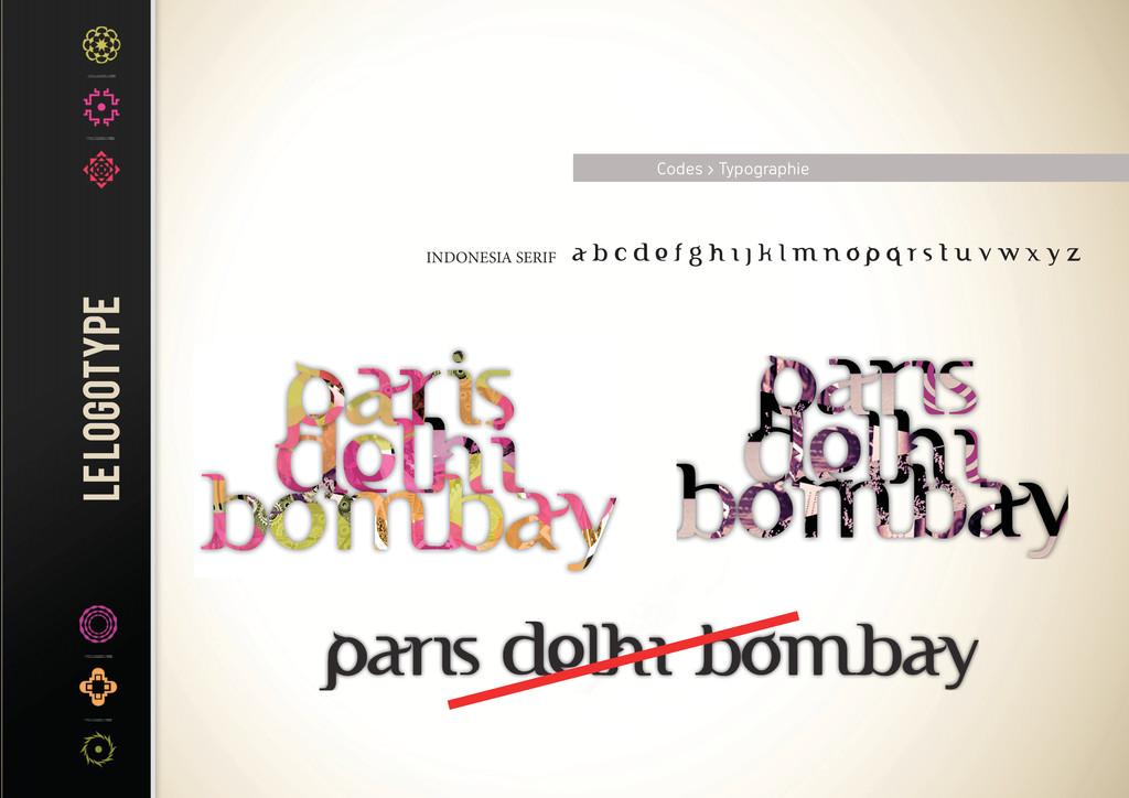 INDONESIA SERIF Codes > Typographie
