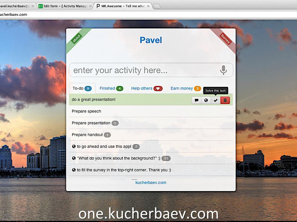 one.kucherbaev.com