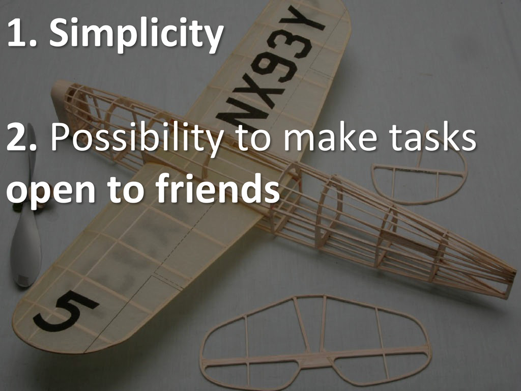 1. Simplicity    2. Possibility ...