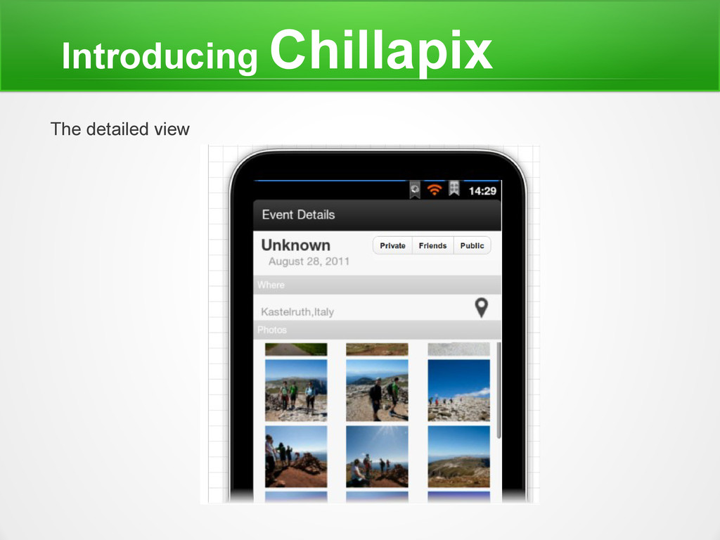 Introducing Chillapix The detailed view