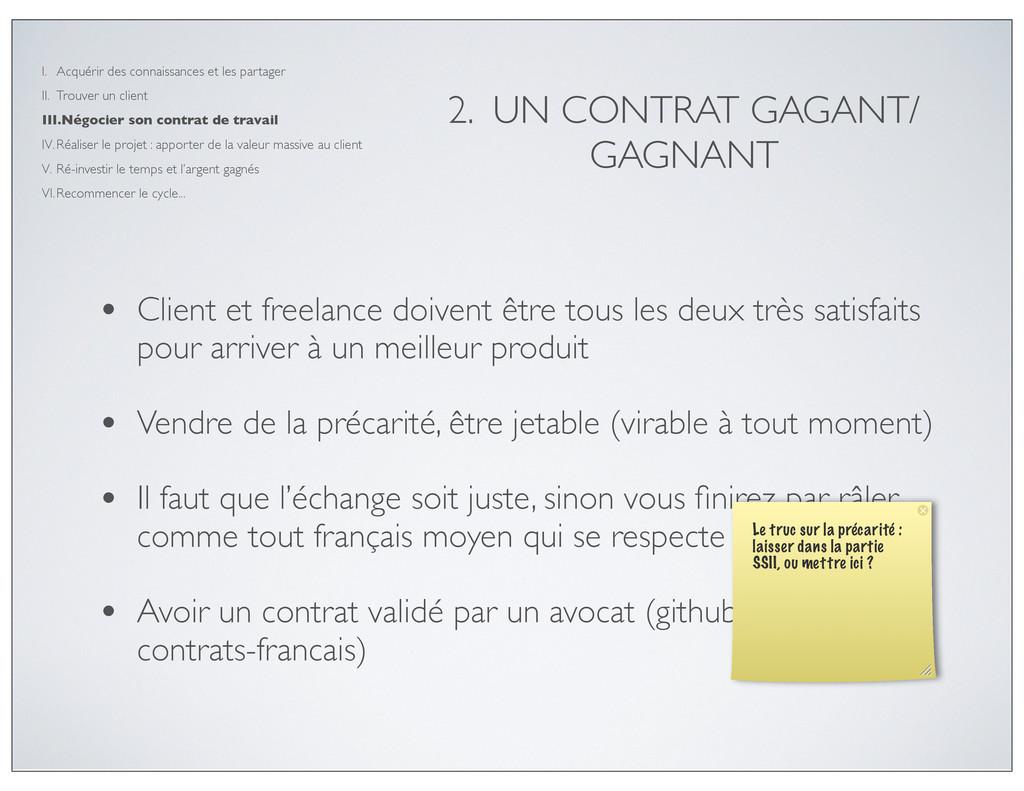 • Client et freelance doivent être tous les deu...