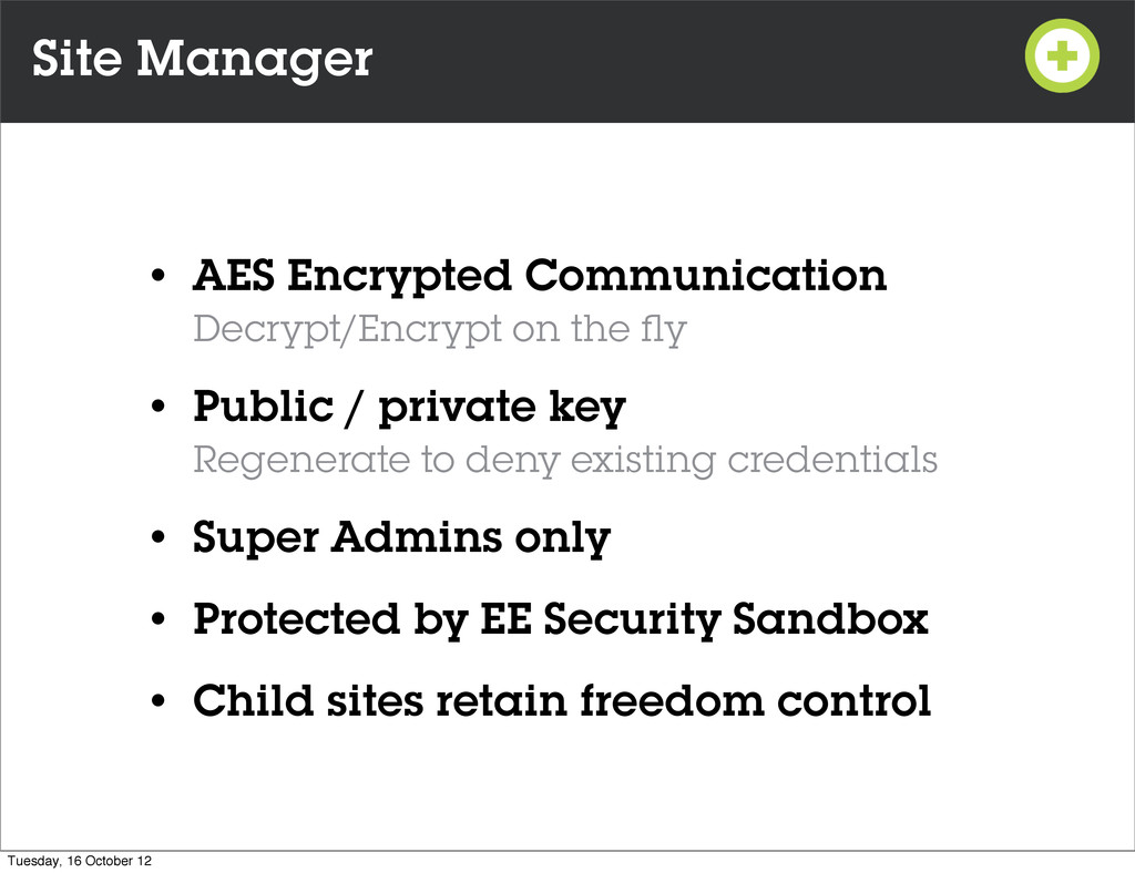 Site Manager • AES Encrypted Communication Decr...