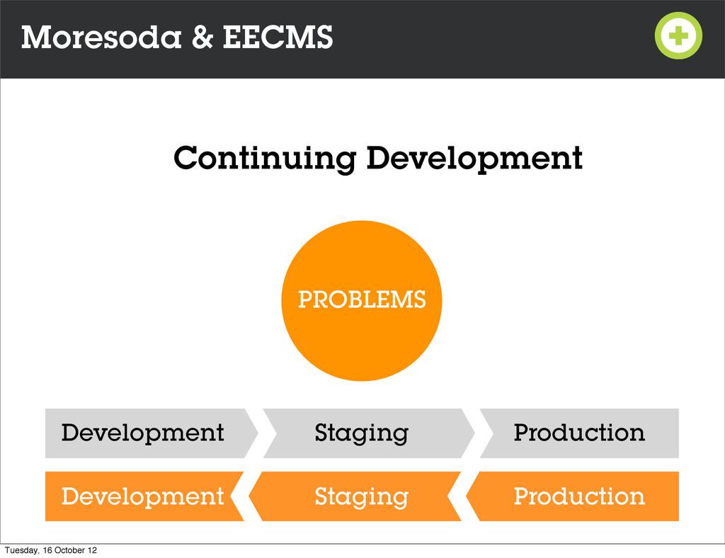 Moresoda & EECMS PROBLEMS Development Staging P...