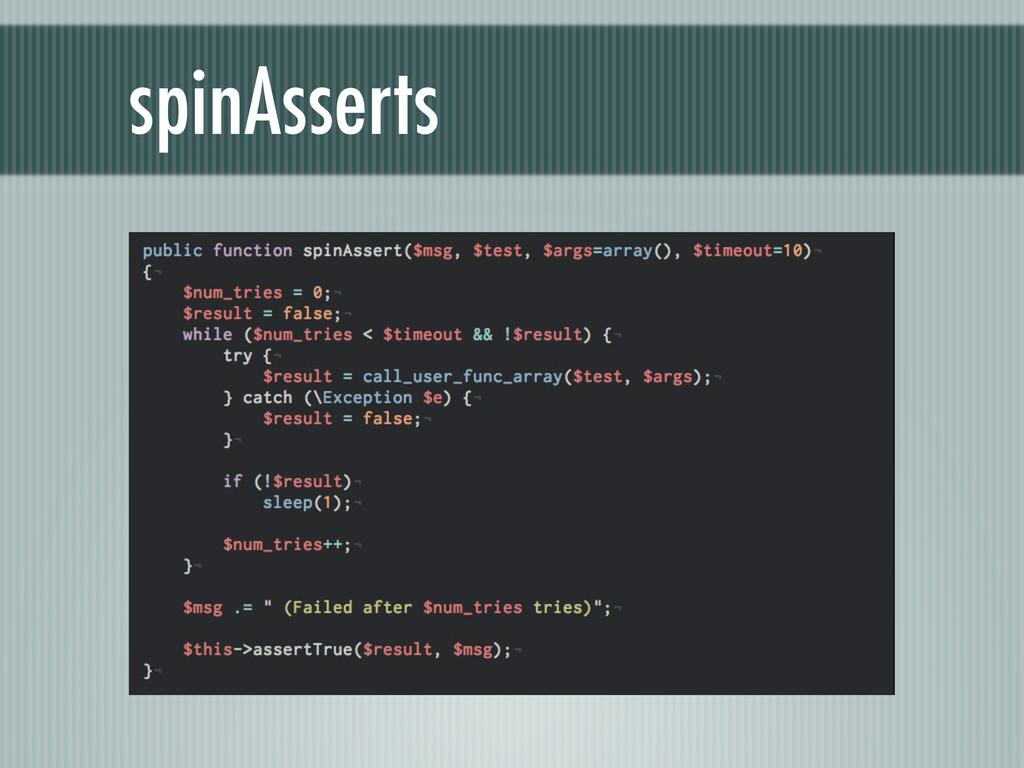 spinAsserts