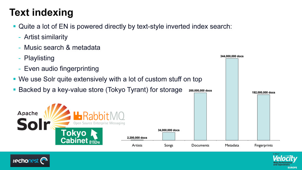 Text indexing  Quite a lot of EN is powered di...