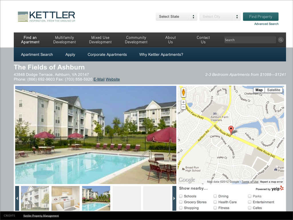 Kettler Property Management CREDITS