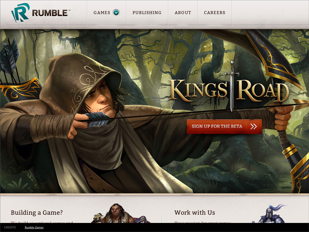 Rumble Games CREDITS