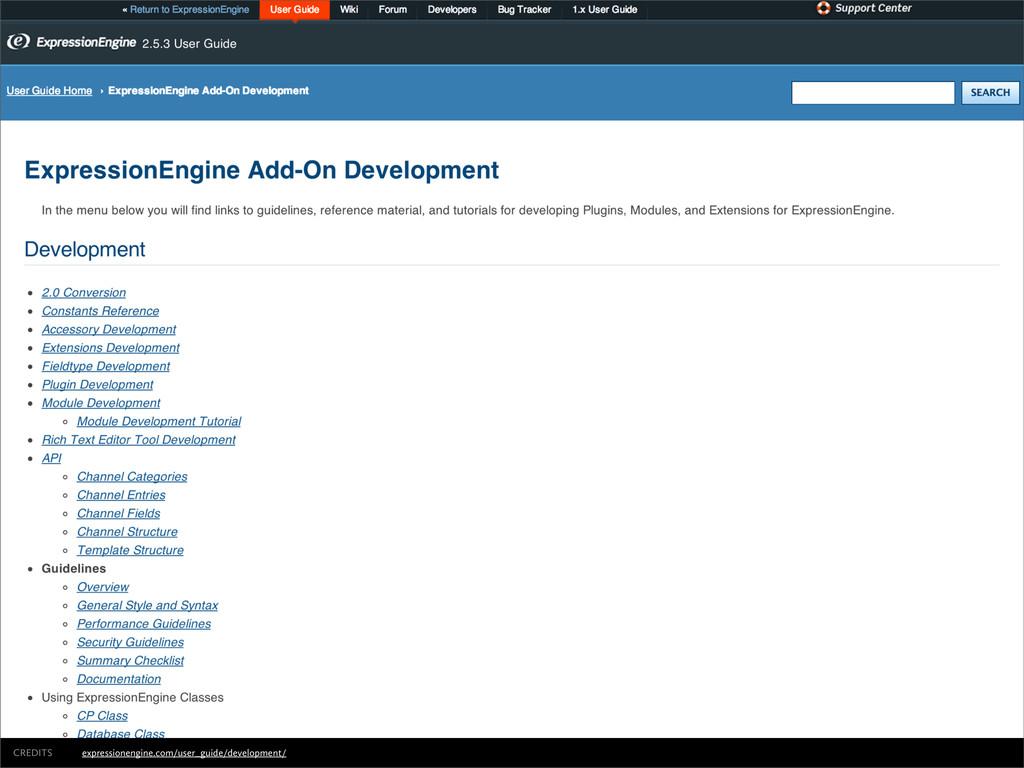 expressionengine.com/user_guide/development/ CR...