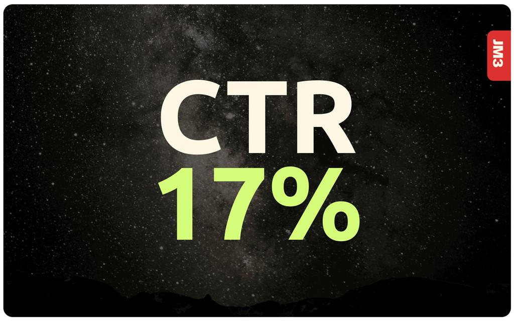 JM3 CTR 17%