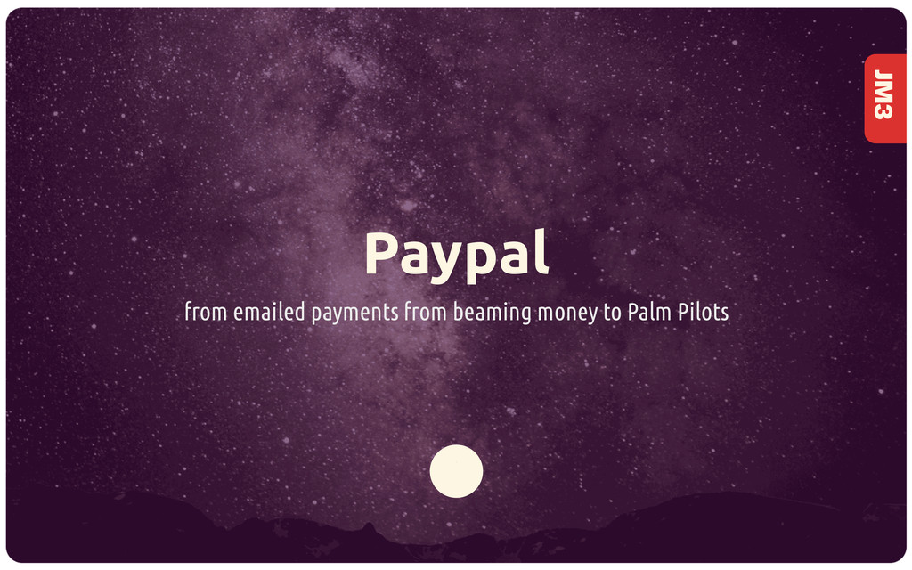JM3 Paypal from emailed payments from beaming m...
