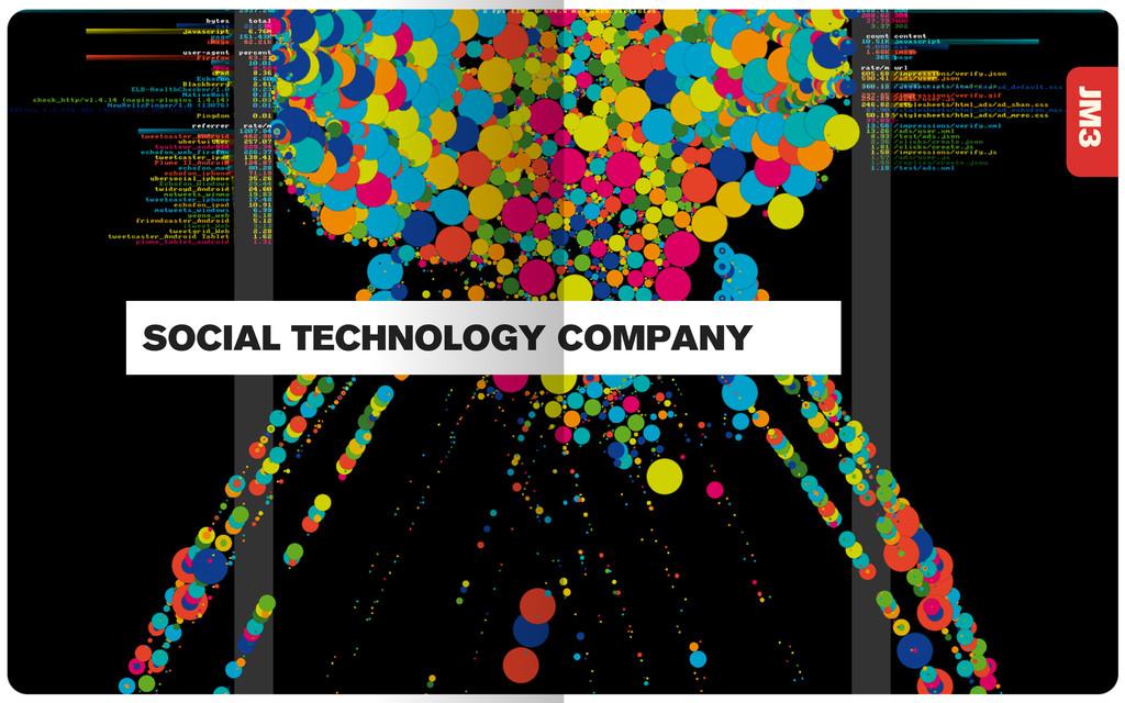 JM3 SOCIAL TECHNOLOGY COMPANY