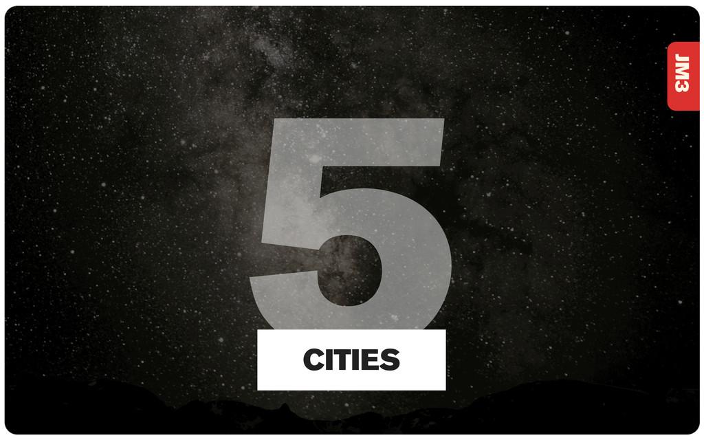 JM3 5 CITIES