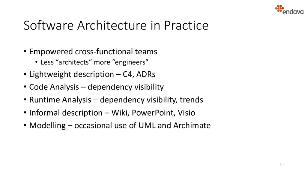Software Architecture in Practice • Empowered c...