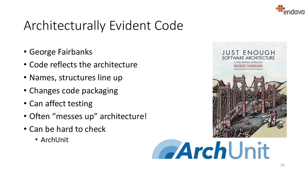 Architecturally Evident Code • George Fairbanks...