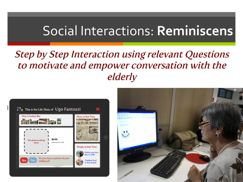 Social Interactions: Reminiscens  Step...