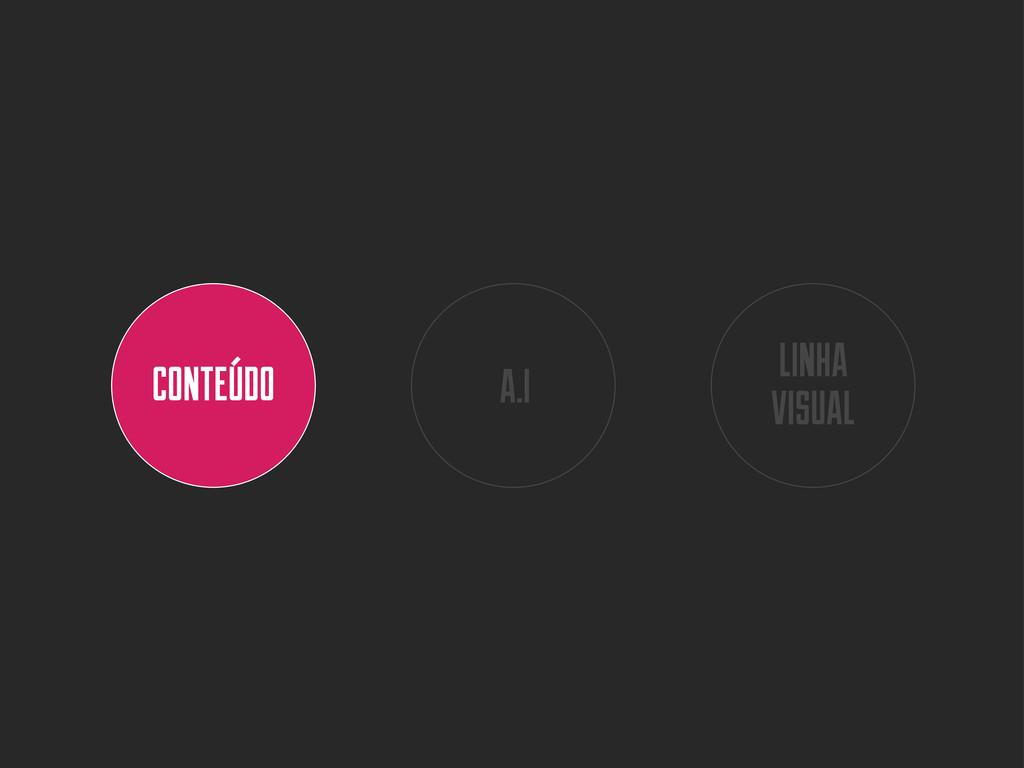 CONTEÚDO A.I LINHA VISUAL