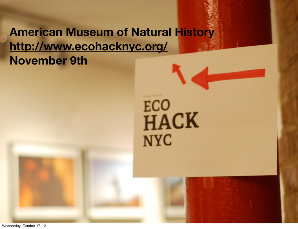 American Museum of Natural History http://www.e...