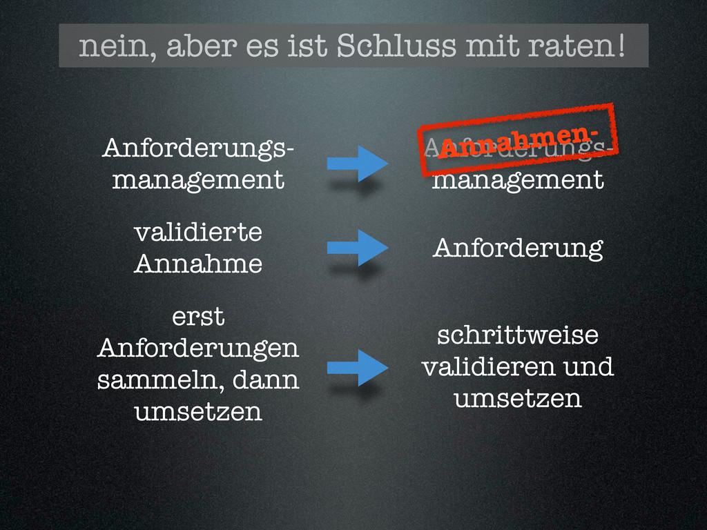 Anforderungs- management Anforderungs- manageme...