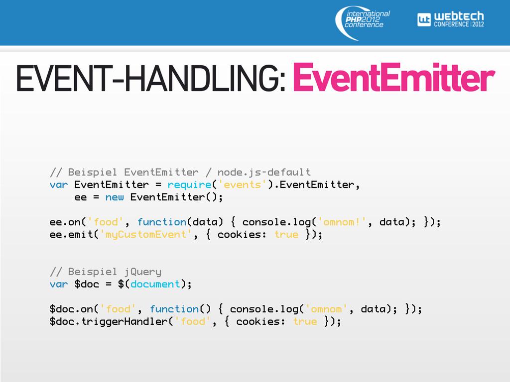 EVENT-HANDLING: EventEmitter // Beispiel EventE...