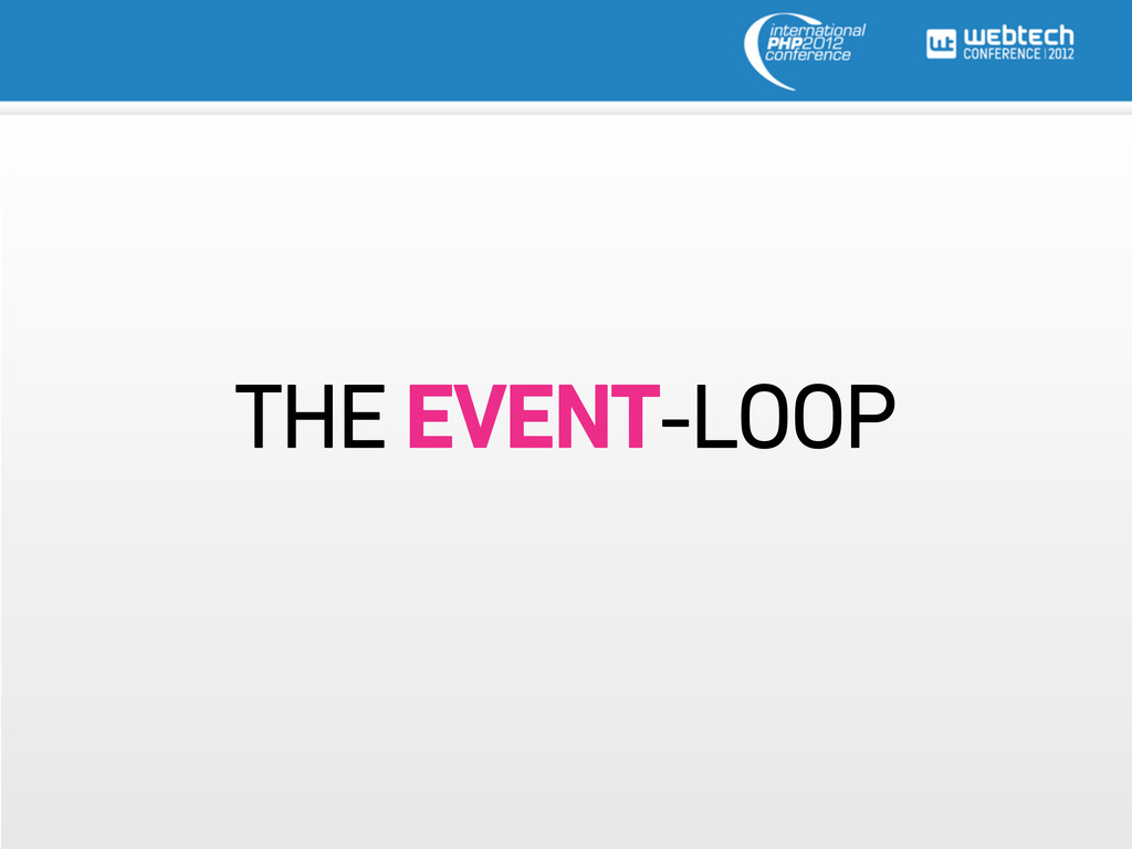 THE EVENT-LOOP