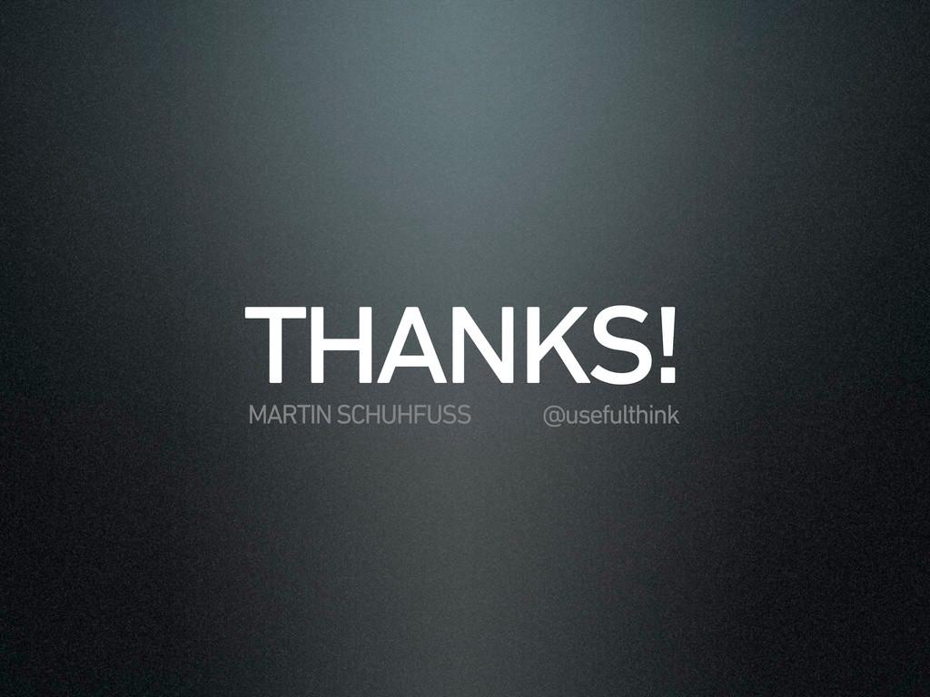 $2,*6%7 MARTIN SCHUHFUSS @usefulthink
