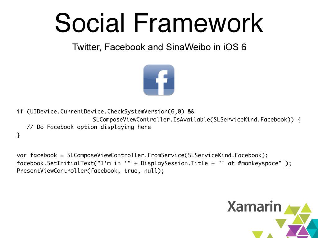 Social Framework Twitter, Facebook and SinaWeib...