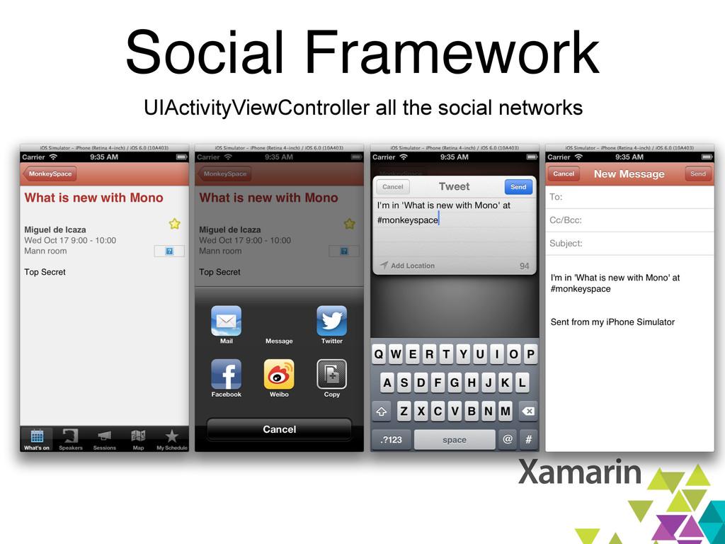 Social Framework UIActivityViewController all t...