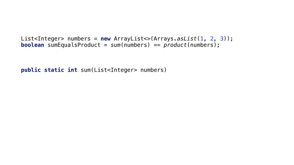 List<Integer> numbers = new ArrayList<>(Arrays....