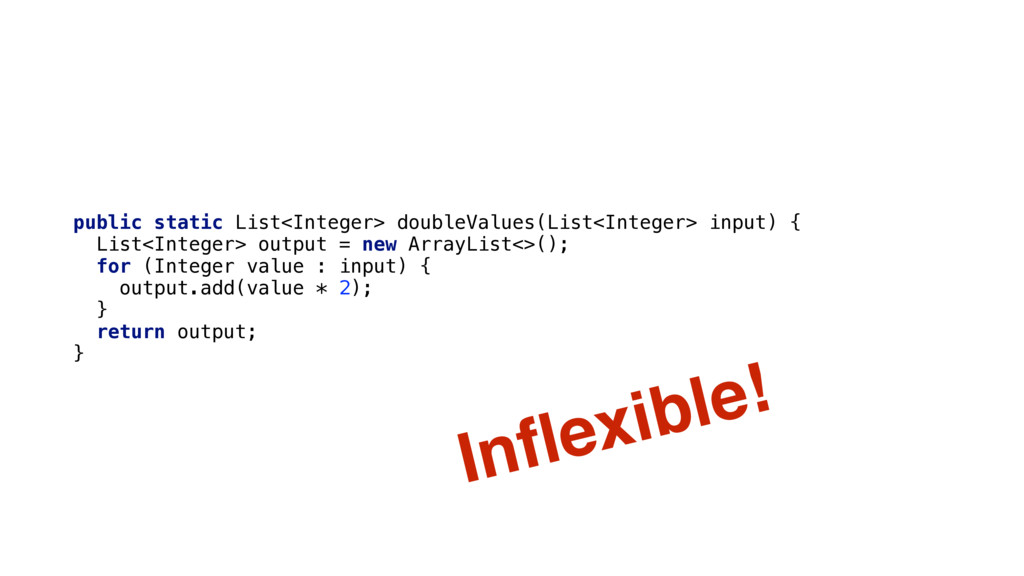 public static List<Integer> doubleValues(List<I...