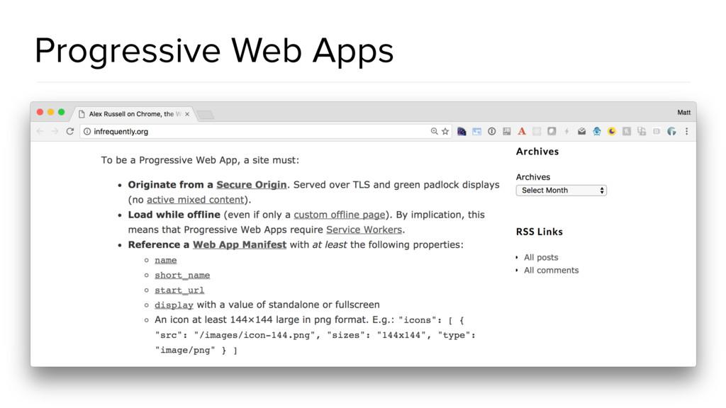 @spring_io #springio17 Progressive Web Apps