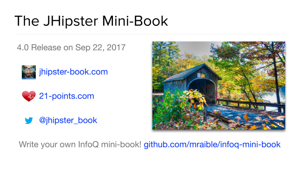 The JHipster Mini-Book 4.0 Release on Sep 22, 2...